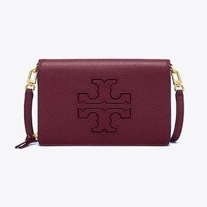 Tory Burch Harper flat wallet crossbody